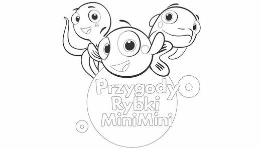 Kolorowanka Przygody Rybki Minimini Minimini