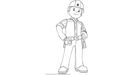 Bob Budowniczy Zabawy Kolorowanka Minimini