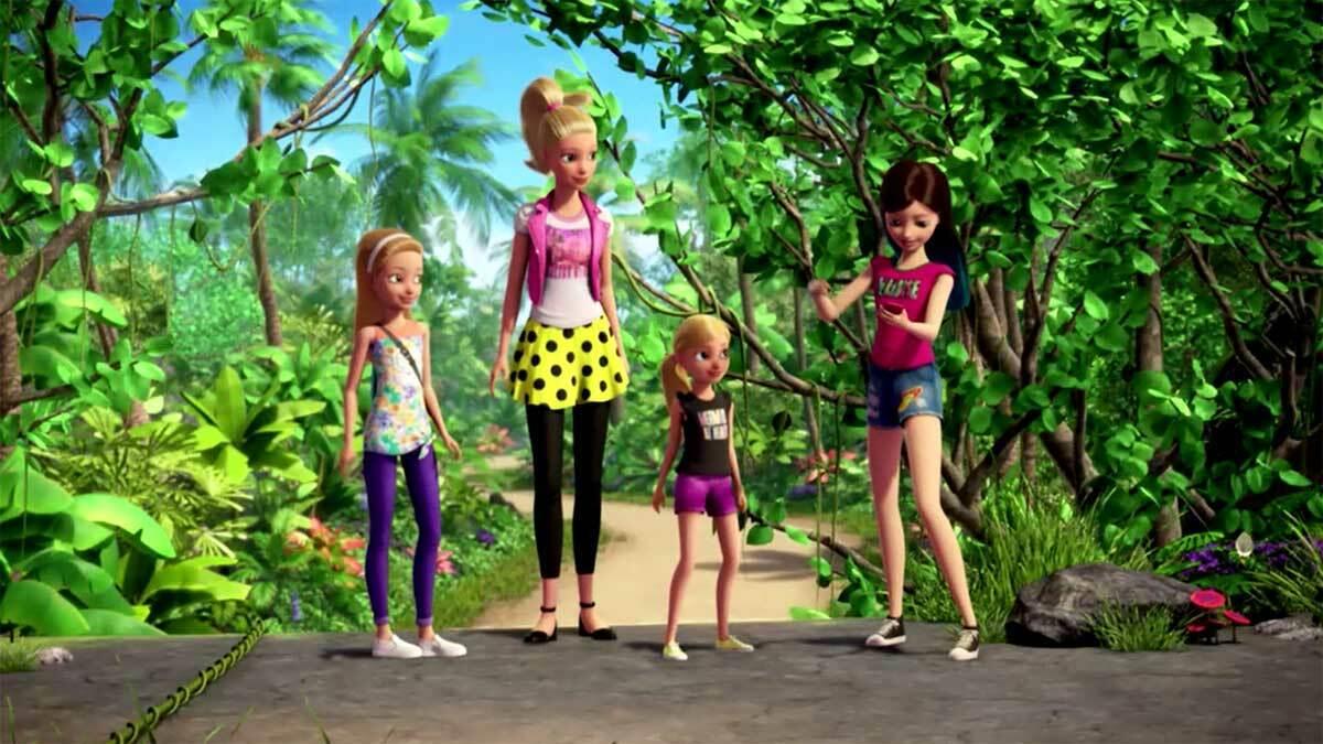 Barbie I Siostry Na Tropie Pieskow Minimini