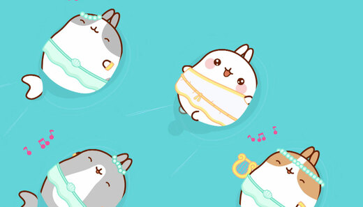 Molang 4 - Syreny - odc. 15