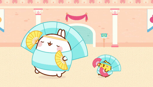 Molang 4 - Cyrkowcy - odc. 26